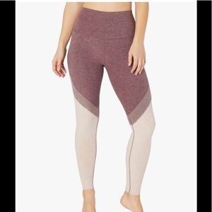 Beyond Yoga Tri Panel High Waisted Midi Legging
